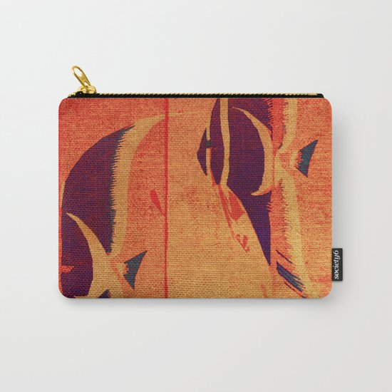 Two Fish in My Mind Carry-All Pouch