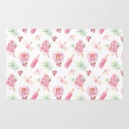 Hawaiian Dream Pop Pattern Rug