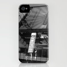 Broadway & W42nd St iPhone (4, 4s) Slim Case
