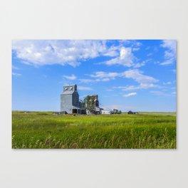 Elevators, Carlyle, Montana Canvas Print