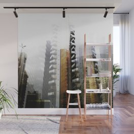 Ghost Town Wall Mural