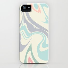 Abstract Marble Pattern iPhone Case
