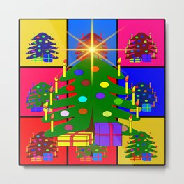 Christmas ornaments advent ball Metal Print
