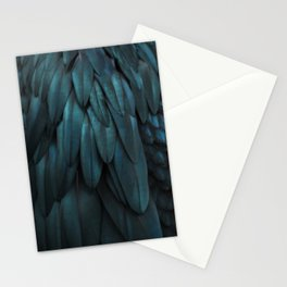 DARK FEATHERS Stationery Cards