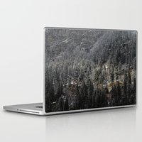 uncharted Laptop & iPad Skins featuring Powdered Mountain by Uncharted Path