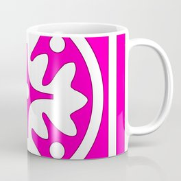 hot pink pattern Coffee Mug