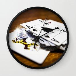Risk and reward Wall Clock