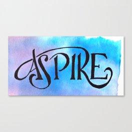 Aspire Canvas Print