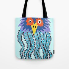 the owl of cthulu Tote Bag