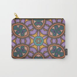 Mandala Mirror Carry-All Pouch