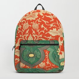 Examples of Chinese Ornament XCIV Backpack