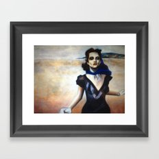running Framed Art Print
