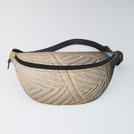 Wooden carving southwest Fanny Pack