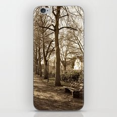 A lonely world iPhone & iPod Skin