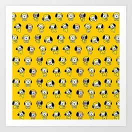 Jimin BTS - Chimmy Art Print