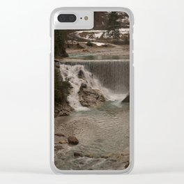 Sava Waterfall Clear iPhone Case