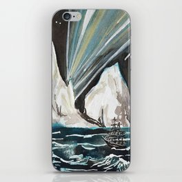 Aurora Iceberg iPhone Skin
