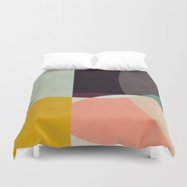 shapes abstract Duvet Cover