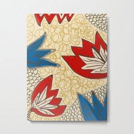 Printed Pattern Metal Print