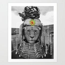 Tribal Queen Art Print