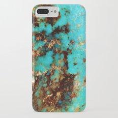 Turquoise I iPhone 7 Plus Slim Case