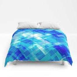 Digital Blue Pool Comforters