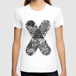 Monogram Letter X T-shirt