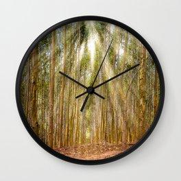 Beam Light Wall Clock
