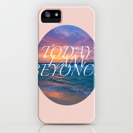Inspirational Poster iPhone Case