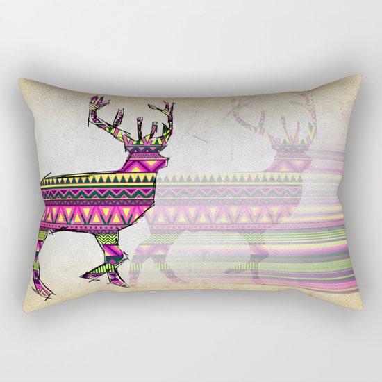 Deer Navajos pattern Rectangular Pillow