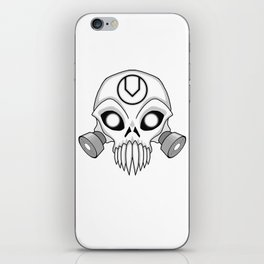 Chaos Skull iPhone Skin