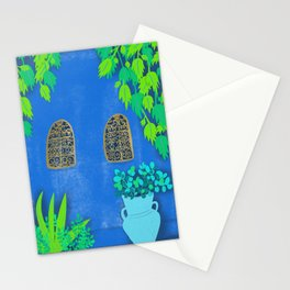 Majorelle Gardens Wall Stationery Cards