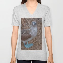 SmartMix Animal- Blue-footed Booby Unisex V-Neck