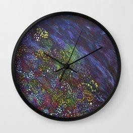 FlowerWorks Wall Clock