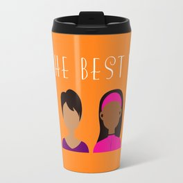Black Girls Be The Best You Travel Mug