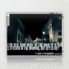 In the Real Dark Night Laptop & iPad Skin