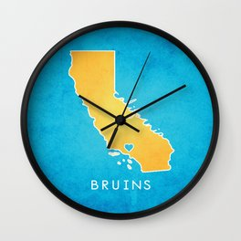 UCLA Bruins Wall Clock