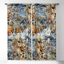 Peaceful Soothing Waters Blackout Curtain