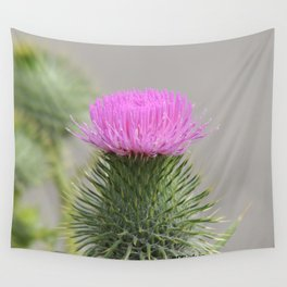 Thistle Bloom Wall Tapestry
