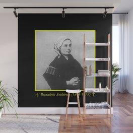 Billard Perrin - Portrait of Bernadette Soubirous Wall Mural