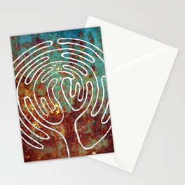 LIFE TREE. LABYRINTH Stationery Cards