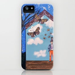 Dreams at home iPhone Case