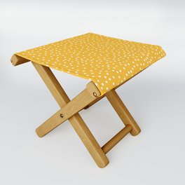 YELLOW DOTS Folding Stool