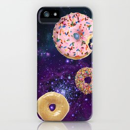 Donuts In Space iPhone Case