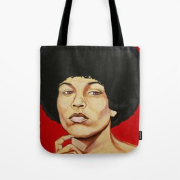 """Angela Davis """"Revolutionary"""" Tote Bag"""