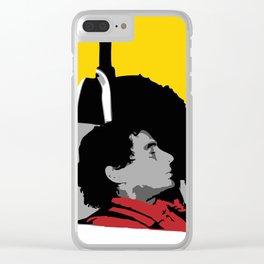 Against All Odds - Ayrton Senna Clear iPhone Case