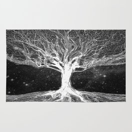 Starry Night Tree of Life Rug