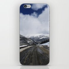 Snowy Road iPhone & iPod Skin