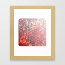Winter mood Framed Art Print