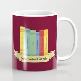The Jane Austen's Novels III Coffee Mug